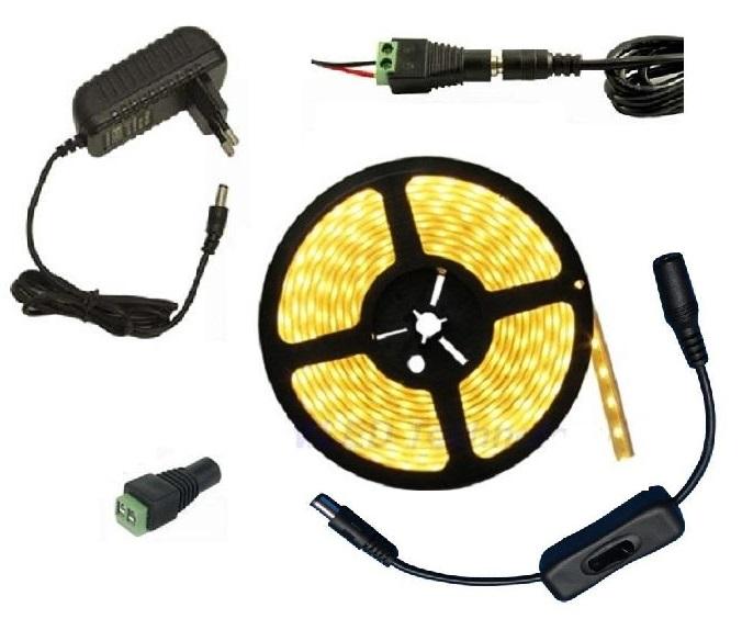 Light LED pásek 5050 60LED m IP20 14.4W m teplá bílá 257600cfb9